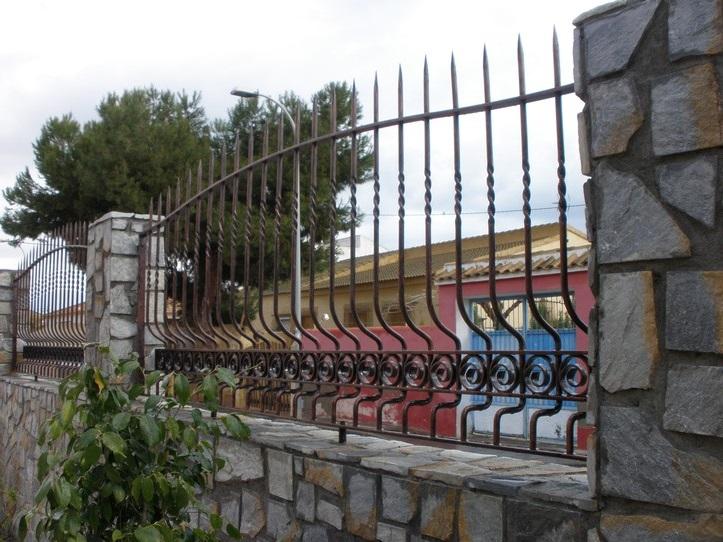 Rejas dise forja hierro forjado para ventanas puertas - Rejas de hierro forjado ...